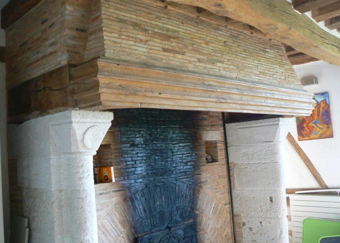 cheminée cauchoise
