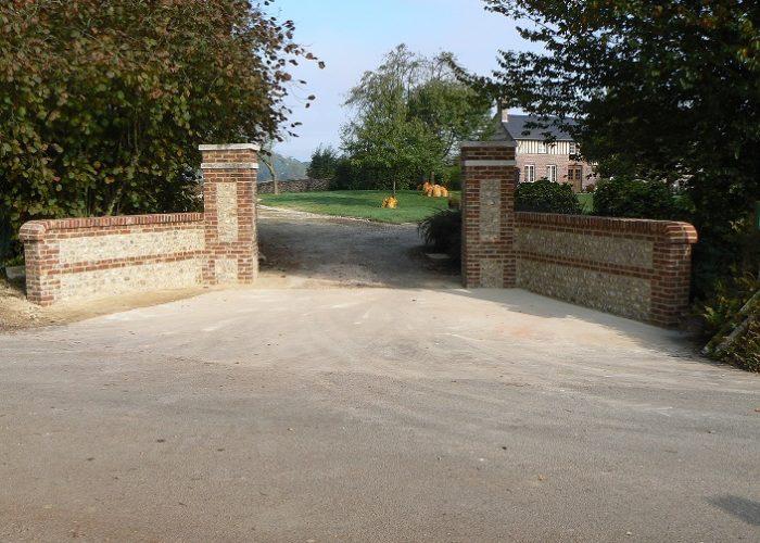 piliers de barrière