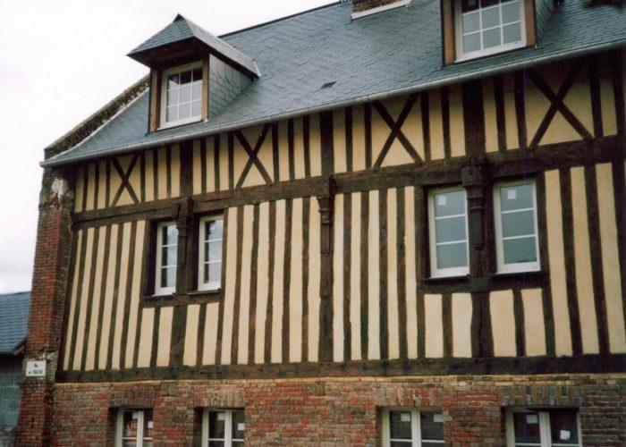 Rénovation de maison normande