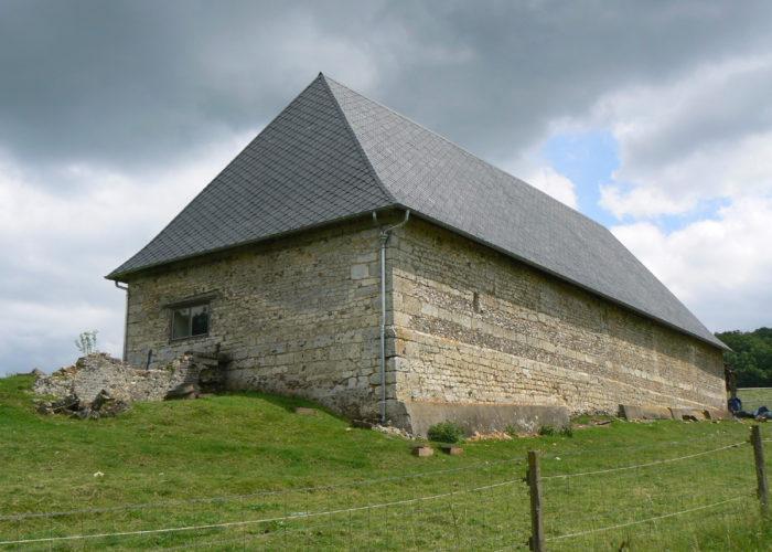 Restauration d'une grange médiévale