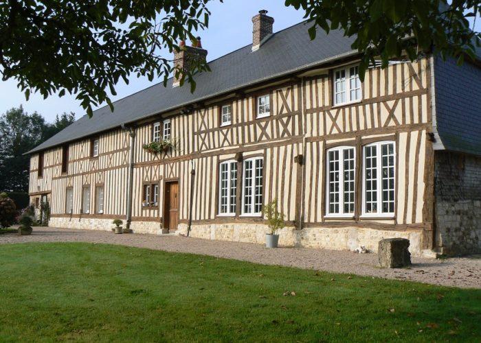Rénovation d'un manoir cauchois en Normandie