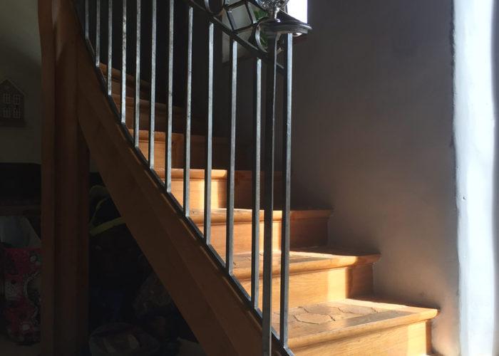 Escalier en tomettes