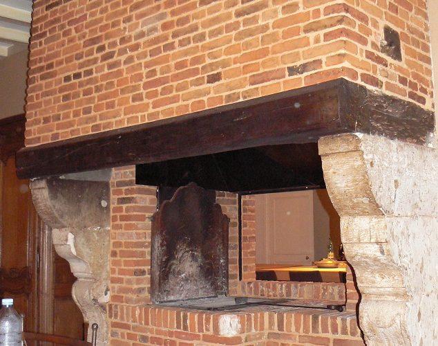 Restauration de cheminée cauchoise
