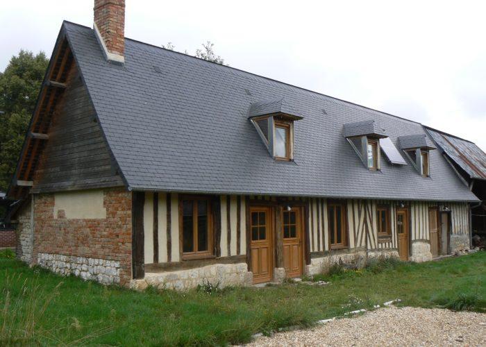 Rénovation maison du Pays de Caux