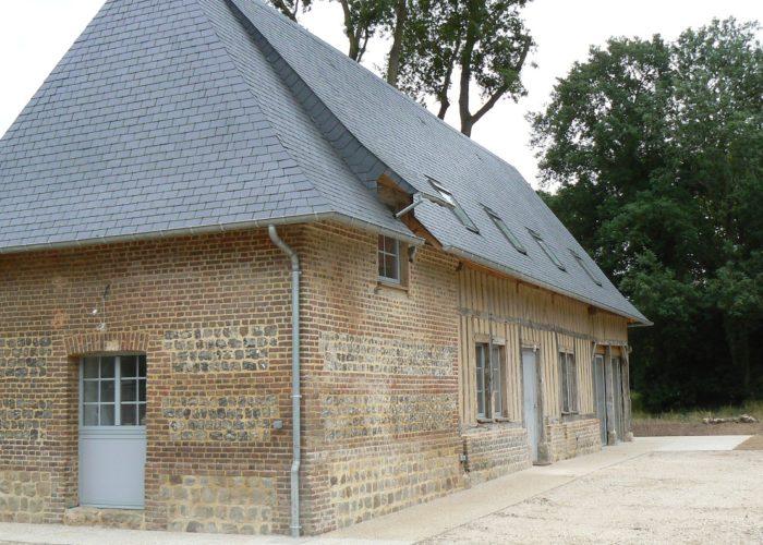 Restauration maison normande