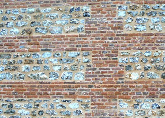 brique et silex en Normandie