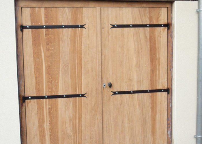 Porte rustique chêne