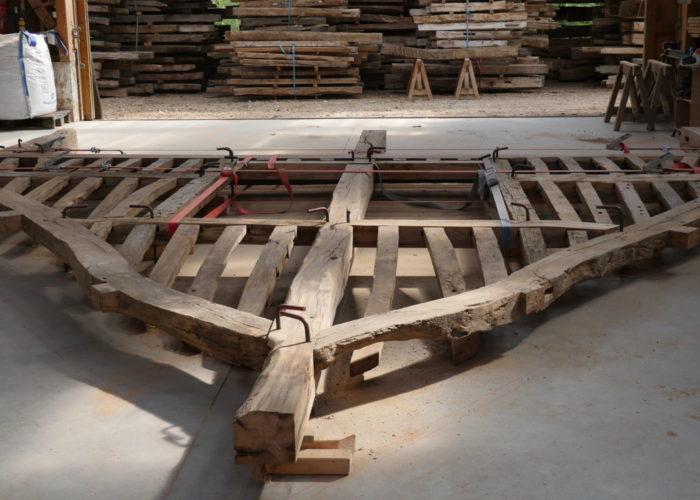 construction charpente chêne Normandie