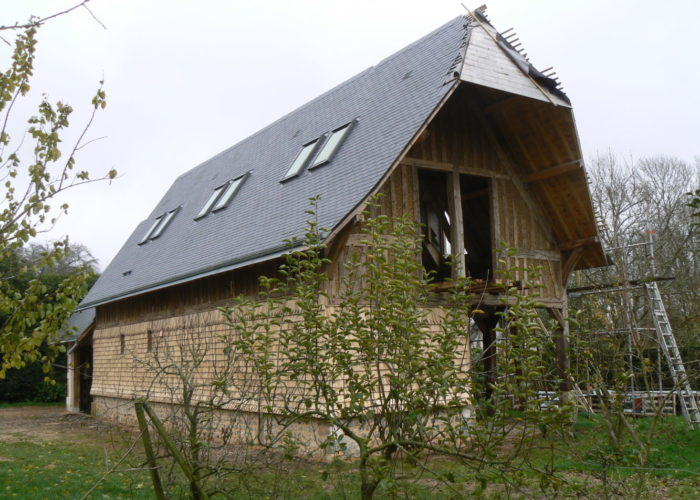 Maison neuve en colombages - Normandie
