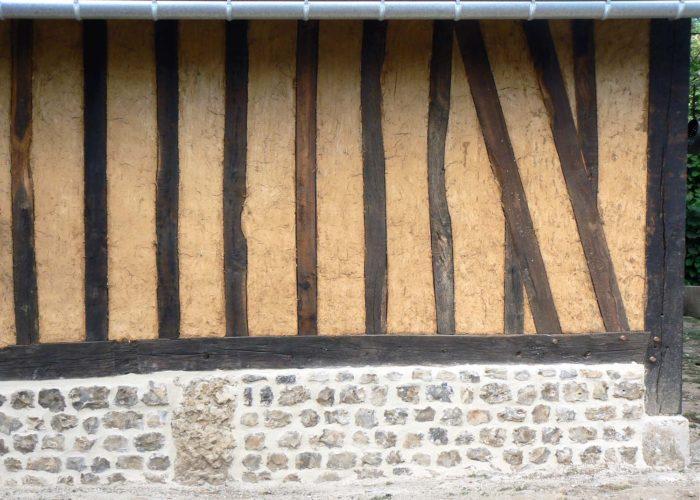 Torchis et maçonnerie à la chaux