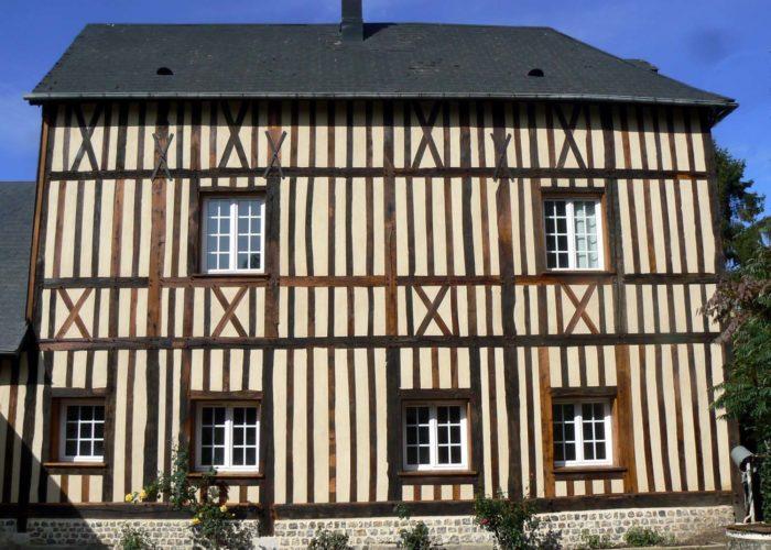 Rénovation de maison en colombages